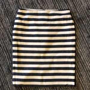 Stripped skirt. Like new! Worn once.